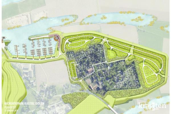 Uitbreiding recreatiepark Kasteel Ooijen Broekhuizenvorst